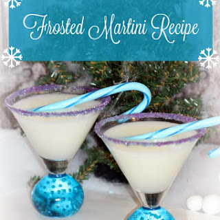 Frosted Martini.