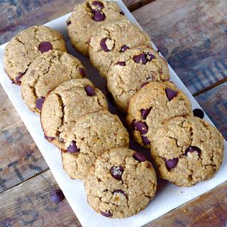 Coconut Flour Chocolate Chip Cookies (Grain-free)