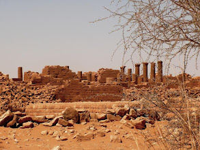Photo: Musawarat temple, not far from the Merowe pyramids