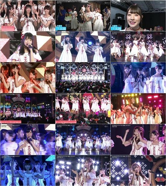 (TV-Music)(1080i+720p) NGT48 – テレビ朝日・六本木ヒルズ夏祭り SUMMER STATION 音楽LIVE 2017 171014