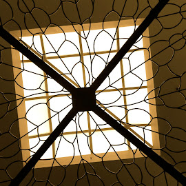 Skylight by Donna Probasco - Novices Only Abstract