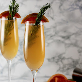 Rosemary and Grapefruit Cocktail.