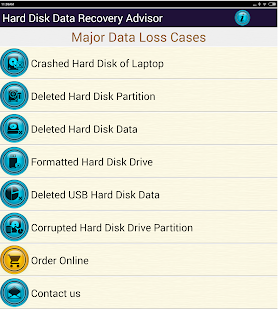 App Hard Disk Data Recovery Help APK for Windows Phone