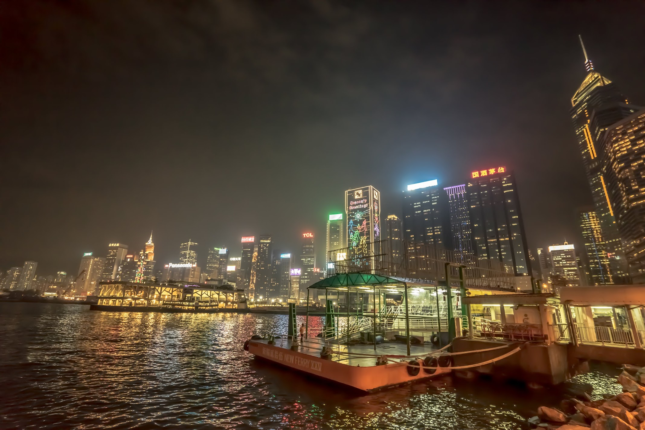 Hong Kong night view2