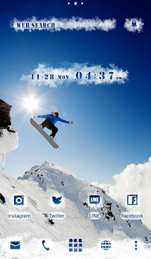 snowboarder Wallpaper Snow&Sky 1.0.0 Windows u7528 5