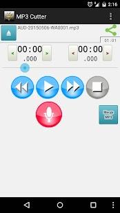 MP3 Cutter- screenshot thumbnail