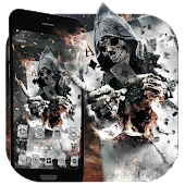 Smoky Poker Skull Launcher Theme Live HD Wallpaper Android APK Download Free By Best Launcher Theme & Wallpapers Team 2019