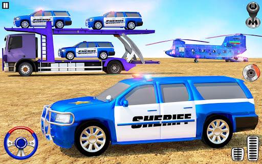 Offroad Police Transporter Truck 2019 Screenshots 6