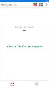 PDF to XLS Converter 2
