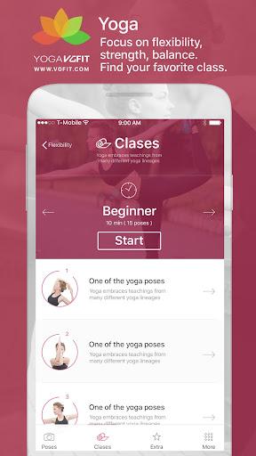 Yoga - Poses & Classes  screenshots 3