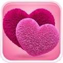 Pink Hearts Wallpaper icon