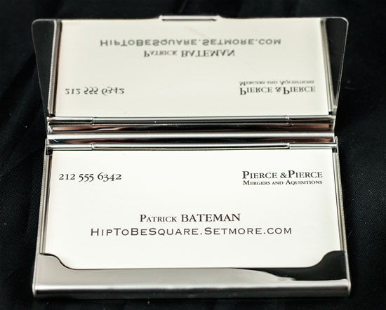 A business card featuring a Setmore customized booking page URL.