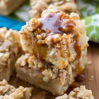 Pear Pie Crumble Bars.