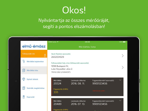 Elmű-Émász EnergiApp screenshot 9
