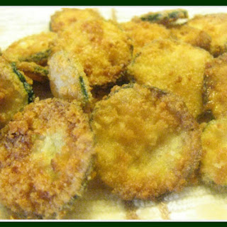 Fried Zucchini Chips {Grain Free}