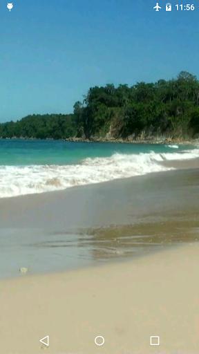 Beach Video Live Wallpaper 3D