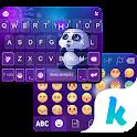 Panda Night Kika KeyboardTheme icon