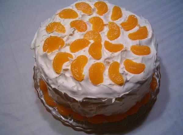 Orange Blossom Cake Recipe