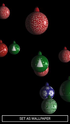 Xmas Holiday 3D Live Wallpaper Screenshot 2
