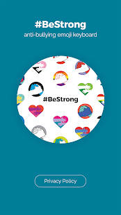 #BeStrong anti-bullying emojis - náhled