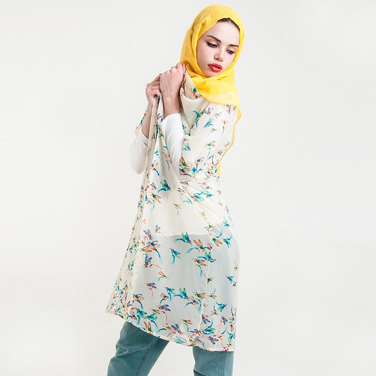 Hummingbird Overcoat by Hijab Le Modesty