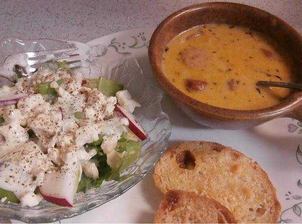 Cheddar Potato Soup Recipe