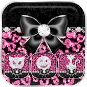 Cute Pink Leopard Theme
