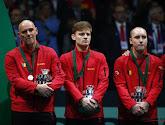 Johan Van Herck reageerde teleurgesteld op de Belgische uitschakeling op de Davis Cup