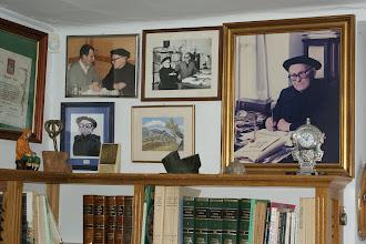Photo: Une partie du bureau de la maison
