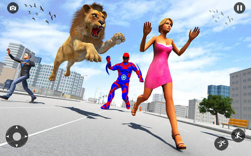 Superhero Police Speed Hero:Rescue Mission 1.16 screenshots 4