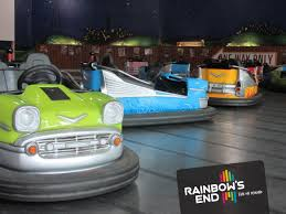 Image result for rainbows end bumper cart