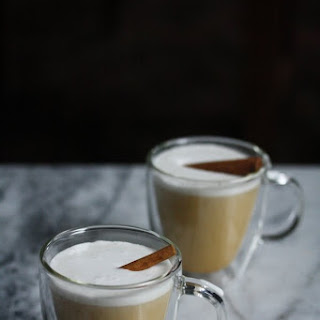 Homemade Pumpkin Chai Tea Lattes