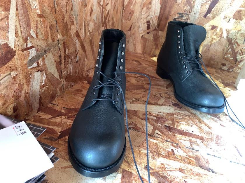 革靴の製造も手掛けておられます
