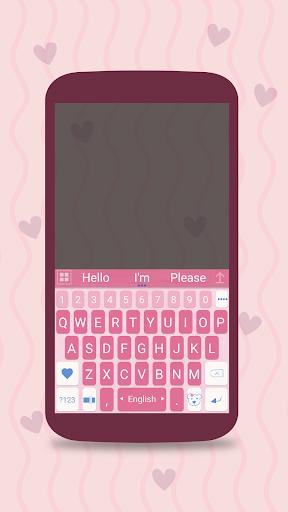 ai.keyboard My Baby Girl theme 5.0.10 screenshots 1