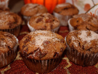 Cinnamon Chip Pumpkin Muffins Recipe