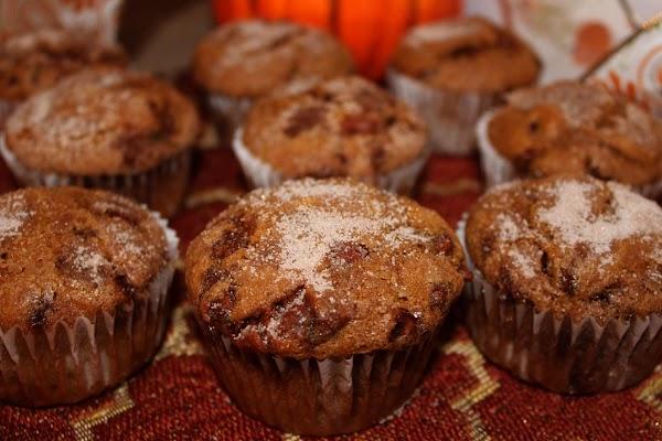 Cinnamon Chip Pumpkin Muffins Recipe