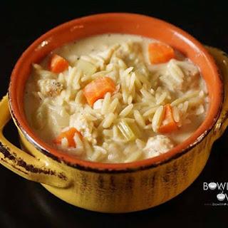 Lemon Orzo Chicken Soup.