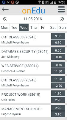 onEdu myCampus - screenshot