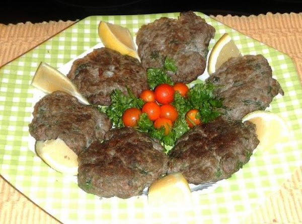 Greek Meat Patties...(bifetki) Recipe
