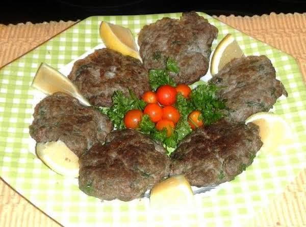 Greek Meat Patties...(bifetki) Recipe