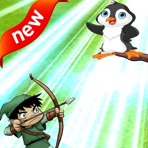 Penguin Archery