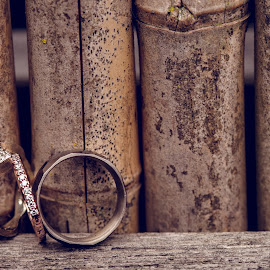 Infinity by Kate Gansneder - Wedding Details ( wedding ring, ring, bamboo, wood, wedding )