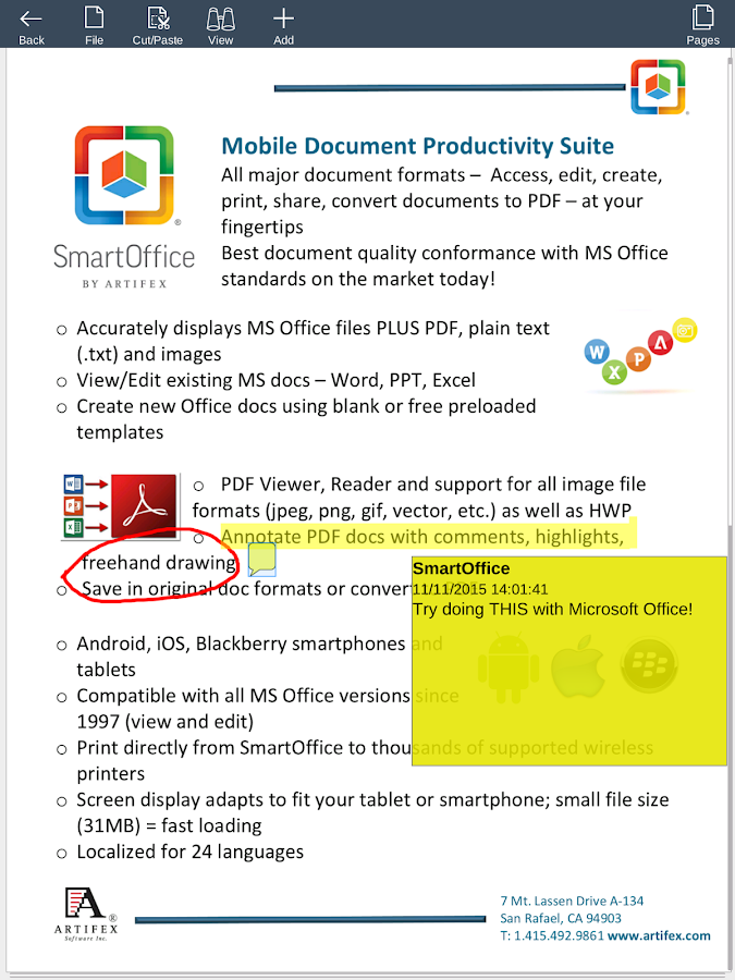 Smart Office 2- screenshot