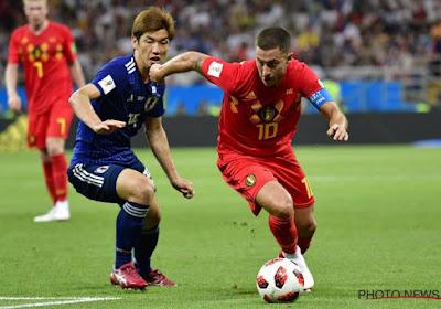 """Eden revient sur le match face au Japon: """"Je ne me rappelle pas avoir vécu un match aussi fou"""""""