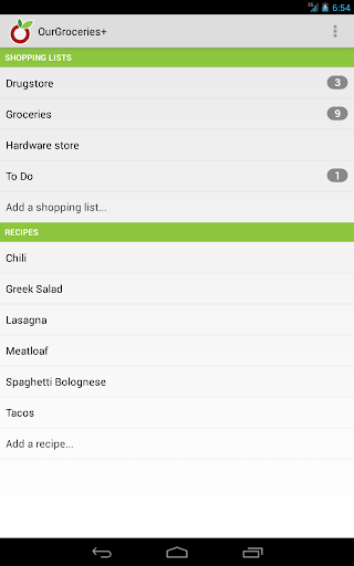 OurGroceries screenshot 11