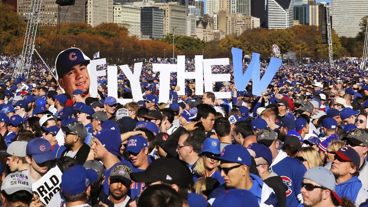 Watch Chicago Cubs Championship Rally live
