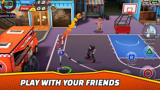 Télécharger Basketball Crew 2k19 - streetball bounce madness!  APK MOD (Astuce) screenshots 1