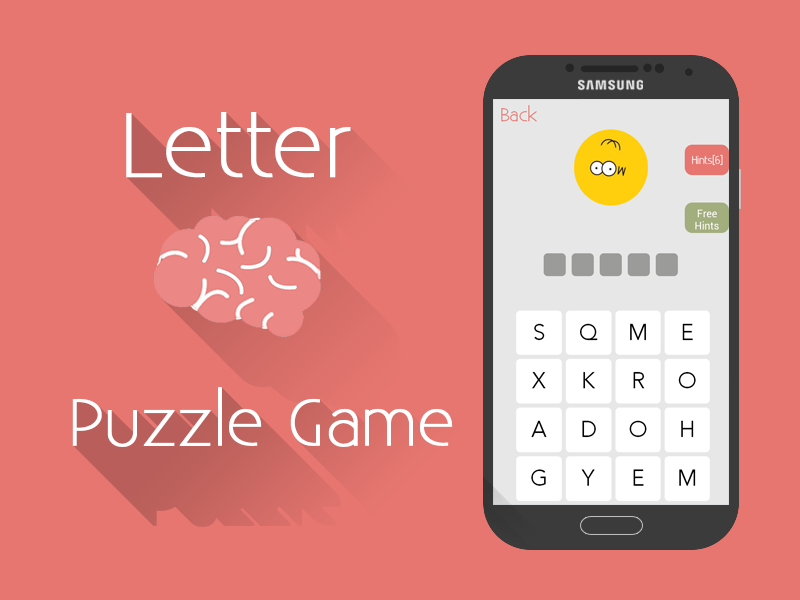 Letter Brain -  Word Puzzle- screenshot
