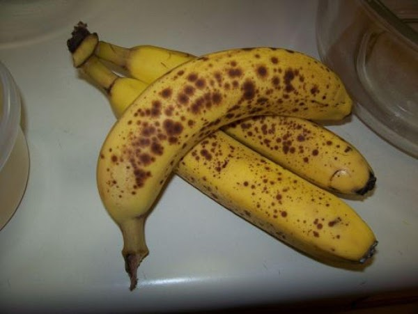 Choose your bananas. I personally like mine ripened until perfectly spotted. I think they...