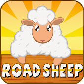 Road Sheep: Crossy Multiplayer